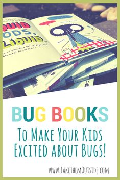 Try these exciting and fun insect books for kids at home at at school.   If you're tired of reading boring picture books to your preschoolers, try these fun and educational kids books instead. | #kidsbooks #bugbooks #naturestudy #homeschooling #learning #insects #bugs