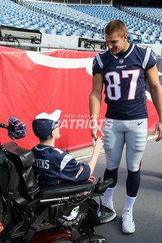 Three kids and their families came to Gillette Stadium to meet Rob Gronkowski on Saturday with Make a Wish Massachusetts and Rhode Island, but the day turned into so much more.
