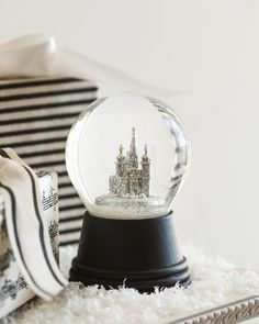 The Original Vienna Basilica Snow Globe, hand-crafted by the Perzy family in Vienna. #MyBalsamHillHome