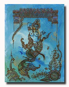 Suvannamaccha- The Golden Mermaid. Hindu