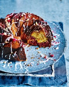 When afternoon tea is given the PB & J treatment you get this light peanut and raspberry bundt cake.
