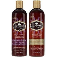 HASK Macadamia Oil Shampoo & Macadamia Oil Conditioner set 12 oz.