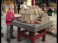 how to make a brick oven general overview - YouTube