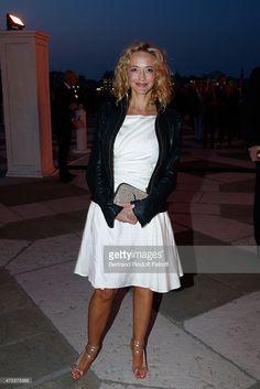 Helene de Fougerolles attends the Dinner At 'Fondazione Cini, Isola Di San Giorgio', 2015 Venice Biennale on May 6, 2015 in Venice, Italy.