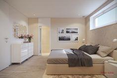 Spálňa v príjemných tónoch Home Room Design, House Rooms, Interior Design, Furniture, Home Decor, Atelier, Projects, Nest Design, Decoration Home