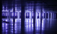 Light and sound artist duo Nonotak Studio—Noemi Schipfer and Takami Nakamoto–recently overtook an underground parking lot in Le Mans, France as part of the Teriaki Festival.