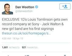 Extremely happy for louis  http://www.thesun.co.uk/sol/homepage/showbiz/bizarre/6416581/One-Direction-Louis-Tomlinson-starts-record-label.html