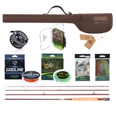 Fly Fishing Reels Rod 3/4 5/6 Pole Lures Line Fly Fishing Tackle Combo Kit Set Pesca Reel Wheel Lure Flies Wire Gear Accessories