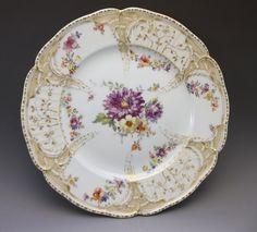 Royal Porcelain Manufactory KPM Hand Painted by FleetwoodAntiques