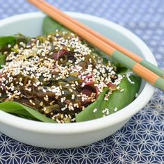 Recipe: Seaweed Salad with Sesame and Amaranth