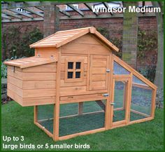 Pets Imperial® Wentworth Large Chicken Coop Hen Ark House Poultry Run Nest Box Rabbit Hutch Suitable For Up To 4 Birds - Integrated Run & Cleaning Tray & Innovative Locking Mechanism Chicken Coop Designs, Chicken Coops Uk, Portable Chicken Coop, Chicken Coop Plans, Building A Chicken Coop, Backyard Poultry, Chickens Backyard, Small Backyard Gardens, Rabbit Hutches