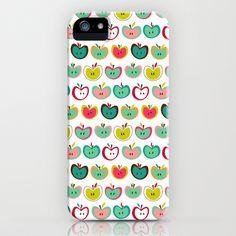 Cute Apples  iPhone & iPod Case by Figen Topbas