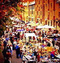 Salamanca Market, Hobart.