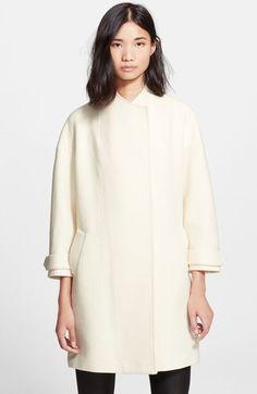Alice + Olivia 'Tiff' Drop Shoulder Coat on shopstyle.com