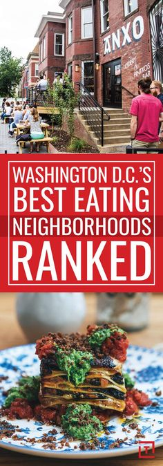 Best Neighborhoods in Washington, DC for Dining and Eating Out, Ranked - Thrillist has many great restaurants. Here are top picks in each neighborhood. Washington Dc Restaurants, Washington Dc Vacation, Washington Dc Eats, Georgetown Washington Dc, Best Places To Eat, Oh The Places You'll Go, Places To Travel, Solo Travel, Travel Usa