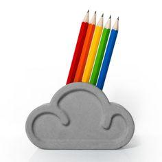 Cloud Pencil & Eraser Set