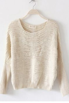 Natural pullover sweater Zip.com