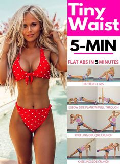 """The 4 Minute Solid Abs Blast Workout For A Tighter Toned Tummy Belly fat """"burn"""". safe Why do your abdominal muscles work so important? Simply put, it's a good thing. what are you waiting for? Fat To Fit, Lose Fat, Lose Weight, Detox Cleanse For Bloating, Ab Blast, Ginger Wraps, Oblique Crunches, Toned Tummy, Natural Detox Drinks"""