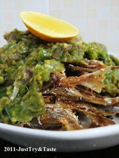 Just Try & Taste: Selar Goreng Garing Siram Sambal Cabai Hijau