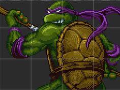 Donatello Sprite Template by D1A13LO.deviantart.com on @DeviantArt