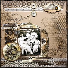 FRIENDSHIP | September Project 2013 for Megs garden | Heather Jacob | Flickr Heritage Scrapbook Pages, Vintage Scrapbook, Scrapbook Page Layouts, Scrapbook Cards, Scrapbooking Ideas, Scrapbook Cover, Photo Layouts, Layout Inspiration, Creative Inspiration