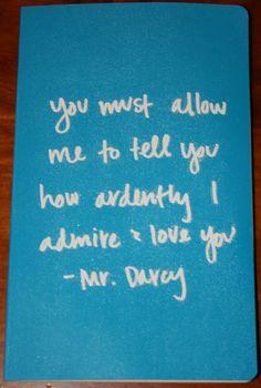 Mr. Darcy journal