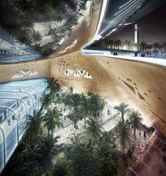 Riyadh Metro Station | Snøhetta | Arch2O.com