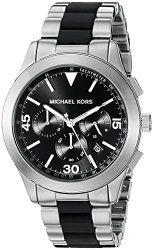Michael Kors Men's Gareth Two-Tone Watch MK8452