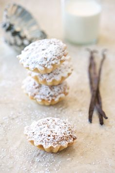Hazelnut Tarts with Chocolate and Orange and a New Year