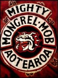 New Zealand's Mongrel Mob patch Motorcycle Logo, Motorcycle Clubs, Maori Face Tattoo, Bike Gang, Mongrel, Biker Clubs, Biker Quotes, Biker Vest, Biker Patches