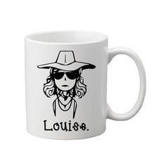Best friends need this Thelma & Louise collection.  - Available in 11oz Ceramic Mug or 15 oz Ceramic Mug. Please view the photos in listing to determine which size is right for you!  -Dishwasher and Microwave safe.  -Printed on both sides with sublimation ink so the design stays on! These designs are not done with vinyl or painted so they do not wash off.