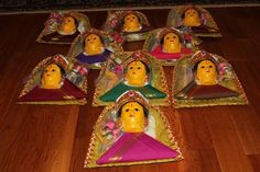Decorated coconut thambulam | Indian Festivals | Pinterest ...