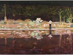 'Echo Lake' - Peter Doig