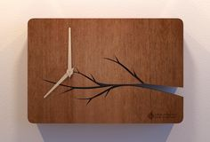 Wooden Clock for Bank Constanta