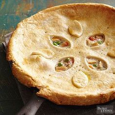 Skillet Chicken Pot Pie More