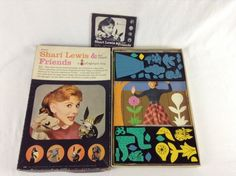 1961 Original Complete Shari Lewis and Her Puppet Friends A Colorforms Toy, Box - SOLD