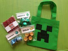 Payton's Minecraft Party!