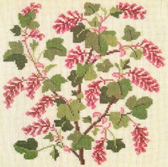 Gallery.ru / Фото #35 - Flowers and Berries in Cross Stitch - Mosca