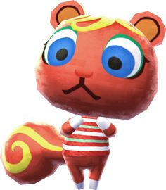 """""""Relax!"""" — Picture quote, Animal Crossing: Wild World """"Speaking of hobbies, I think I'll spend today making macaroni art."""" — Caroline, Animal Crossing: City Folk Caroline (キャロライン, Caroline ) is a normal squirrel villager in the Animal Crossing series. She originally appeared in the Japan-only release Animal Forest+ and made her international debut in Animal Crossing for GameCube as an Islander named Bliss. Following the release of Wild World she has collectively maintained the name of..."""