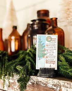 On what is supposed to be a day of relaxation I always find a way to do some work. Working on some vintage style tags to add to the… Cottage Christmas, Cozy Christmas, Holly Wreath, Merry Christmas Greetings, Vintage Fashion, Vintage Style, Winter Holidays, Different Styles, Eye Candy