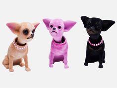 Figurka Dekoracyjna Chihuahua Różne Kolory — Figurki dekoracyjne Kare Design — sfmeble.pl