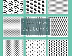 """Check out new work on my @Behance portfolio: """"Hand drawn ink patterns"""" http://be.net/gallery/40508977/Hand-drawn-ink-patterns"""