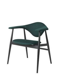 GUBI // Masculo Chair, wood base, by GamFratesi