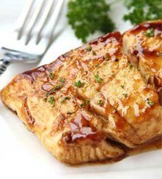 Balsamic-Glazed Halibut recipe
