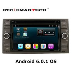 SMARTECH Car multimedia player GPS navigation for Ford/Mondeo/Focus/Transit/C-MAX 2 din Android 6.0.1 Quad Core Car DVD headunit
