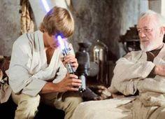 Люк и Оби Ван Кеноби
