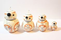 ❣READY TO SHIP? 1 of each available  ❣About: Here I have 4 variations of the new droid, BB-8, from Star Wars. Look at the options below for
