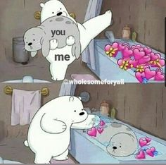- Kermit the Frog Memes Cartoon Memes, Funny Memes, Cartoon Bear, Cartoons, We Are Bears, Sapo Meme, Heart Meme, Cute Love Memes, Love You Memes