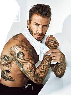 David Beckham en portada de British GQ Marzo 2016