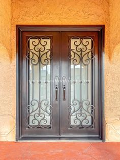 😊😊😊 The design of this iron door makes it very distinctive; it can even be used as a decorative piece and conversation starter. No? -- ☎️☎️☎️ Call 877-205-9418 for Orders and Inquiries 💰💰💰 Ask us about our EXCEPTIONAL OFFERS 🆓🆓🆓 Take advantage of FREE CONSULTATION and FREE DESIGN ⚠️⚠️⚠️ About this Beautiful IRON DOOR: Vatican Double Entry Iron Door -- #irondoor #iwantthatdoor #wroughtirondoor #universalirondoors #ironfrontdoor #irondoorsnearme #irondoorcompany #cheapirondoor Iron Front Door, Wrought Iron Doors, Vatican, Free Design, Conversation, This Is Us, Beautiful, Home Decor, Decoration Home